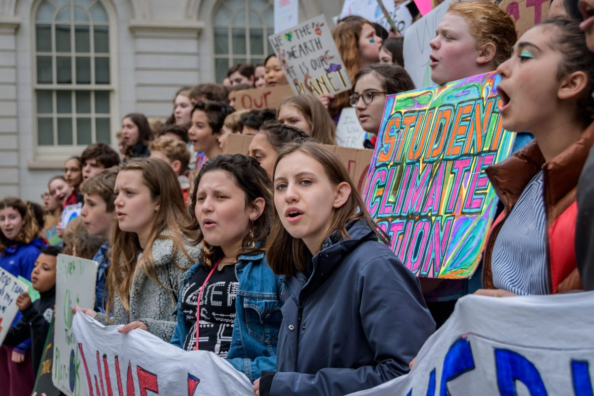 Young Climate Activists Demand Leaders to Act on the Climate Crisis