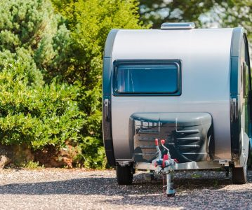 An RV Trailer Built to Match Electric Vehicles